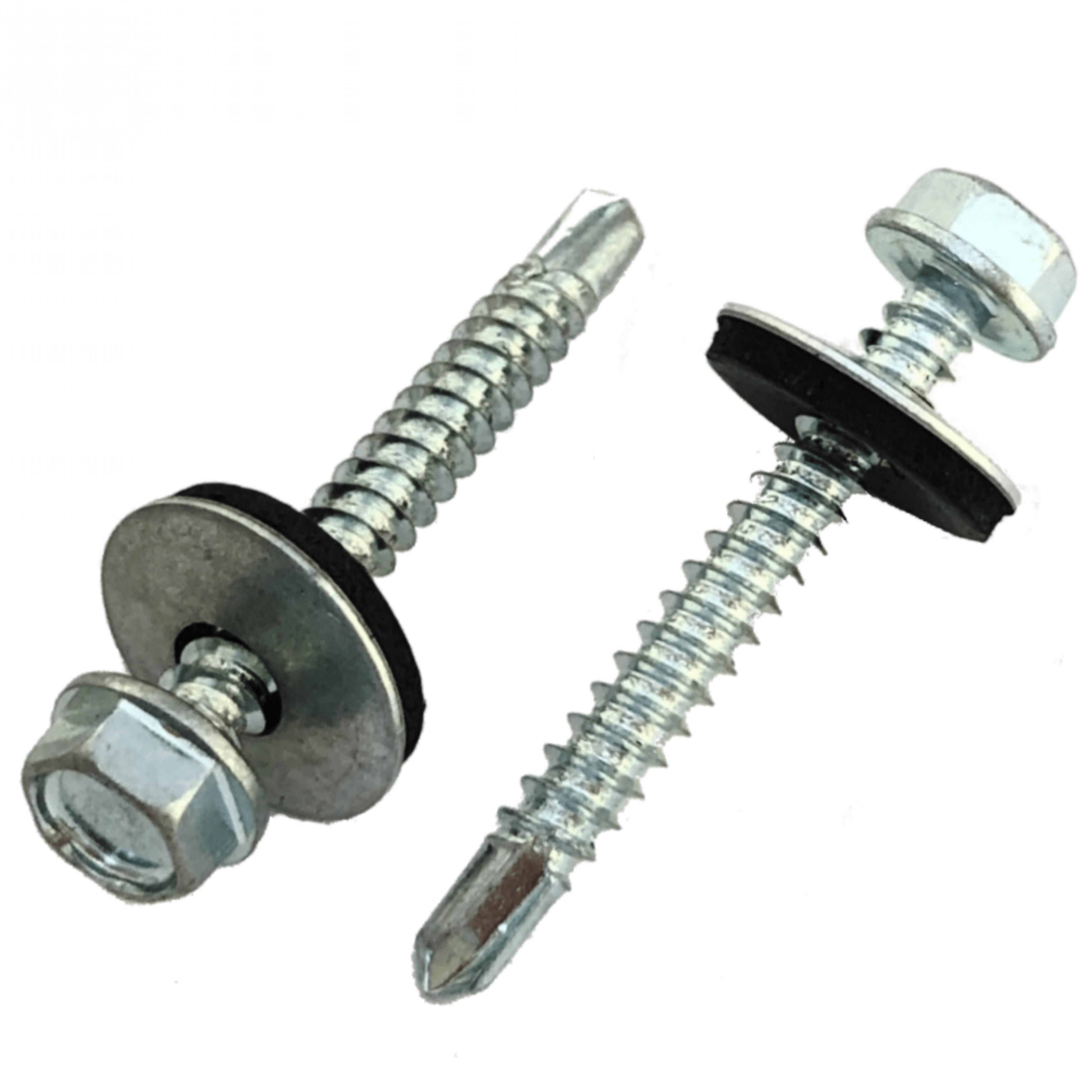 Zelfborende schroeven met ring DIN 7504 K