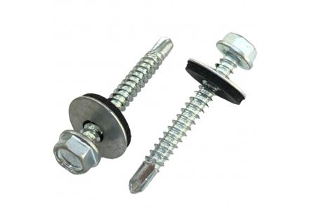 Zelfborende schroeven met ring DIN 7504K 4,8x16 200 stuks