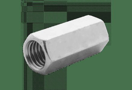 Koppelmoeren DIN 6334 6 M10 galvanisch verzinkt - 100 stuks