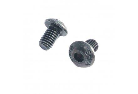 Inbusbouten laagbolkop zwart verzinkt ISO 7380 5x8 100 stuks