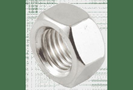 Moeren RVS A2 M3 DIN 934 - 200 stuks