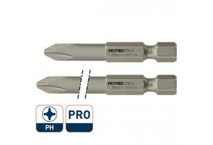 Rotec Pro krachtbit PH2 50mm