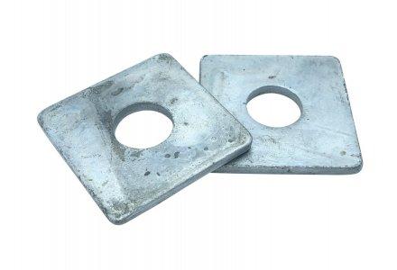 Sluitplaat DIN 436 thermisch verzinkt M24 - 25 stuks