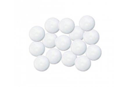 Afdekkapjes met steel voor kobo schroeven Ø 12mm 100 stuks wit