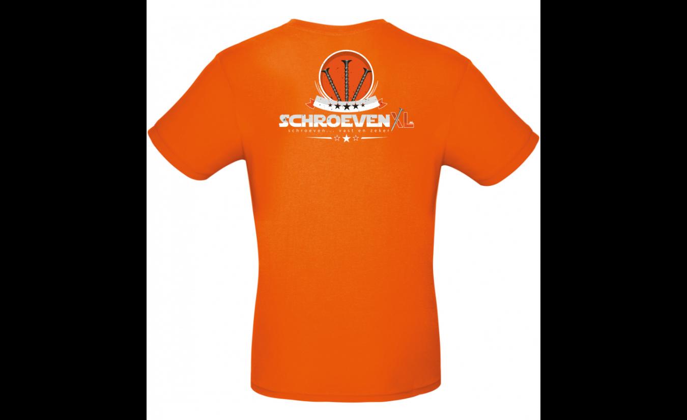 Schroevenxl Oranje T-shirt